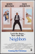 """Movie Posters:Comedy, Neighbors & Other Lot (Columbia, 1981). One Sheets (2) (27"""" X 41""""). Advance and Regular. Comedy.. ... (Total: 2 Items)"""