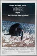 """Movie Posters:Horror, Ben & Other Lot (Cinerama Releasing, 1972). One Sheets (2) (27"""" X 41""""). Horror.. ... (Total: 2 Items)"""