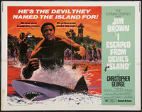 "I Escaped from Devil's Island & Others Lot (United Artists, 1973). Half Sheet (22"" X 28"") and One Sheets (..."
