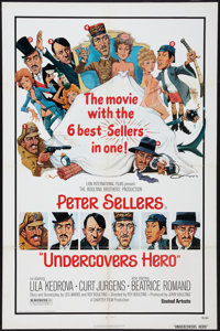 "Undercovers Hero & Others Lot (United Artists, 1975). One Sheets (5) (27"" X 41""). Regular and Style B..."