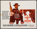"Movie Posters:Western, A Fistful of Dollars (United Artists, 1967). Half Sheet (22"" X 28""). Western.. ..."