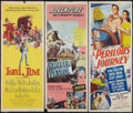 "Movie Posters:Adventure, Lord Jim and Others Lot (Columbia, 1965). Inserts (3) (14"" X 36"").Adventure.. ... (Total: 3 Items)"