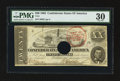 Confederate Notes:1862 Issues, T51 $20 1862 PF-11 Cr. 366. Trans-Mississippi Stamp.. ...