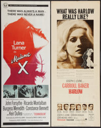 """Madame X and Other Lot (Universal, 1966). Inserts (2) (14"""" X 36""""). Drama. ... (Total: 2 Items)"""