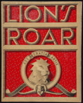 """Movie Posters:Miscellaneous, Lion's Roar (MGM, 1941). Promotional Magazine (Multiple Pages, 11"""" X 14""""). Miscellaneous.. ..."""