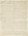 Autographs:Artists, George Catlin Autograph Letter Signed...