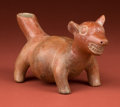 American Indian Art:Pottery, Petite Colima Fat Dog...
