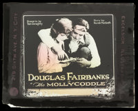 "The Mollycoddle (United Artists, 1920). Glass Slide (3.25"" X 4""). Adventure"