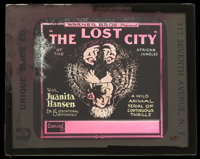 The Lost City (Warner Brothers, 1920). Glass Slide. Serial