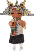 American Indian Art:Kachina Dolls, A HOPI COTTONWOOD KACHINA DOLL. c. 1935...
