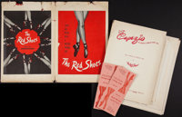 """The Red Shoes (Eagle Lion, 1949). Field Manager's Pressbook (Multiple Pages, 10' X 15""""). Fantasy"""