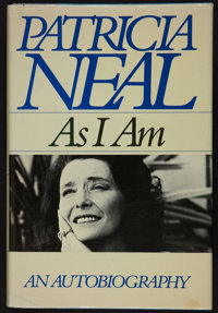 "Patricia Neal Autographed Biography ""As I Am"" (Simon and Schuster, 1988). Autographed Hardbound Book (384 Page..."