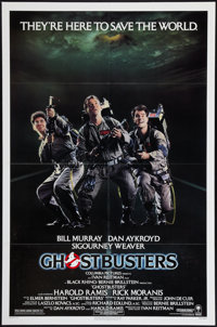 """Ghostbusters (Columbia, 1984). One Sheet (27"""" X 41""""). Comedy"""