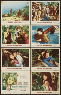 "Green Mansions (MGM, 1959). Lobby Card Set of 8 (11"" X 14""). Drama. ... (Total: 8 Items)"