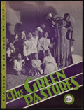"Movie Posters:Black Films, The Green Pastures (Gordon Baker Printing, 1932). Souvenir Theatre Program (16 Pages, 8.75"" X 11.5""). Black Theatre.. ..."