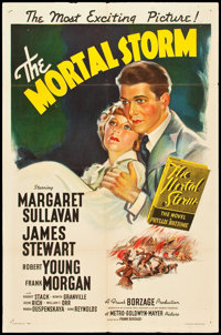 "The Mortal Storm (MGM, 1940). One Sheet (27"" X 41"") Style C. War"