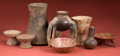 American Indian Art:Pottery, Mixed Lot of Pottery Vessels, Eight Pieces... (Total: 8 Items)
