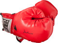 Boxing Collectibles:Autographs, Muhammad Ali Signed Glove....