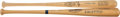 Baseball Collectibles:Bats, Willie McCovey and Willie Mays Signed Bats Lot of 2....