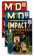 Golden Age (1938-1955):Horror, Impact/MD Group Group (EC, 1955-56) Condition: Average FN+....(Total: 3 Comic Books)
