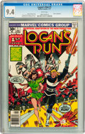 Bronze Age (1970-1979):Science Fiction, Logan's Run #1 and 2 CGC-Graded Group (Marvel, 1977) Whitepages.... (Total: 2 Comic Books)