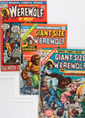 Bronze Age (1970-1979):Horror, Werewolf by Night Group (Marvel, 0) Condition: Average VF....(Total: 40 Comic Books)