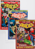 Bronze Age (1970-1979):Horror, Tomb of Dracula Group (Marvel, 1972-79).... (Total: 40 Comic Books)