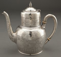 Silver Holloware, American:Tea Pots, A GORHAM SILVER TEAPOT . Gorham Manufacturing Co., Providence,Rhode Island, circa 1914. Marks: (lion-anchor-G) (parrot's he...