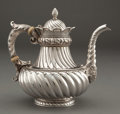 Silver Holloware, American:Tea Pots, A GORHAM SILVER TEAPOT . Gorham Manufacturing Co., Providence,Rhode Island, 1888. Marks: (lion-anchor-G) STERLING, 2100...