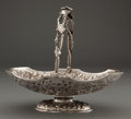 Silver Holloware, American:Baskets, A PETER KRIDER SILVER BREAD BASKET . Peter L. Krider Co.,Philadelphia, Pennsylvania, circa 1880. Marks: (lion-k-crown)J....