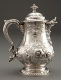 Silver Holloware, American:Coin Silver, A JONES, BALL & POOR COIN SILVER CREAM JUG . Jones, Ball &Poor, Boston, Massachusetts, circa 1846-1853. Marks: JONES,BAL...