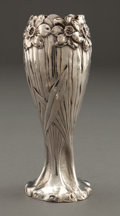 Silver Holloware, American:Vases, A SHIEBLER SILVER VASE . George W. Shiebler & Co., New York,New York, circa 1900. Marks: (winged S) BLACK, STARR &FROST,...