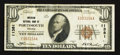 National Bank Notes:Virginia, Portsmouth, VA - $10 1929 Ty. 1 American NB Ch. # 11381. ...