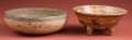 American Indian Art:Pottery, Nicoya and Maya Polychrome Bowls... (Total: 2 Items)