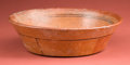 American Indian Art:Pottery, Simple Decorated Fine Orange Maya Bowl...