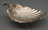 A GORHAM SILVER AND SILVER GILT STRAWBERRY DISH Gorham Manufacturing Co., Providence, Rhode Island, 1872 Marks