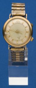 Timepieces:Wristwatch, LeCoultre Wrist Alarm For Parts. ...