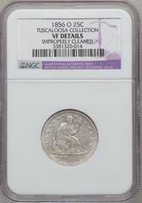 1856-O 25C --Improperly Cleaned--NGC. Details VF. Ex: Tuscaloosa Collection. NGC Census: (0/50). PCGS Population (7/48)...