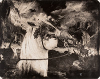 JOEL-PETER WITKIN (American, b. 1939) Printemps, New Mexico, 1993 Toned gelatin silver, 1993 26 x