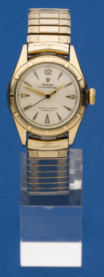 Rolex 10k Gold Reference 6007 Automatic Wristwatch