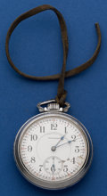 Timepieces:Pocket (post 1900), Waltham 23 Jewel 18 Size Vanguard Pocket Watch. ...