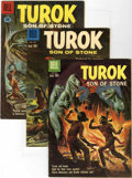 Silver Age (1956-1969):Adventure, Turok Group (Dell, 1960-62).... (Total: 6 Comic Books)