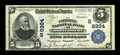 National Bank Notes:Alabama, Montgomery, AL - $5 1902 Plain Back Fr. 600 The Exchange NB Ch. # (S)8284. ...