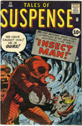 Silver Age (1956-1969):Horror, Tales of Suspense #24 (Marvel, 1961) Condition: FN....