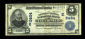 National Bank Notes:Pennsylvania, Clearfield, PA - $5 1902 Date Back Fr. 592 The Farmers &Traders NB Ch. # (E)8464. ...