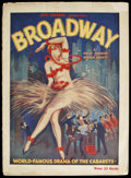 Movie Posters:Drama, Broadway (Jed Harris, 1926). Theater Program (Multiple Pages). Drama. ...