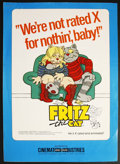 Movie Posters:Animated, Fritz the Cat (Cinemation, 1972). Pressbook (Multiple Pages).Animated. ...