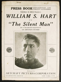 The Silent Man (Artcraft, 1917). Pressbook (Multiple Pages). Western