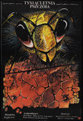 "Movie Posters:Fantasy, A Thousand-Year-Old Bee (Beta Film GmBh, 1983). Polish One SheetB1(26.4"" X 38.4""). Fantasy. ..."