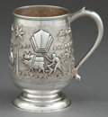 Silver Holloware, Continental:Holloware, A COLONIAL INDIAN SILVER PRESENTATION CUP. Maker unknown, probablyCalcutta, India, circa 1900. Marks: STERLING SILVER. ...